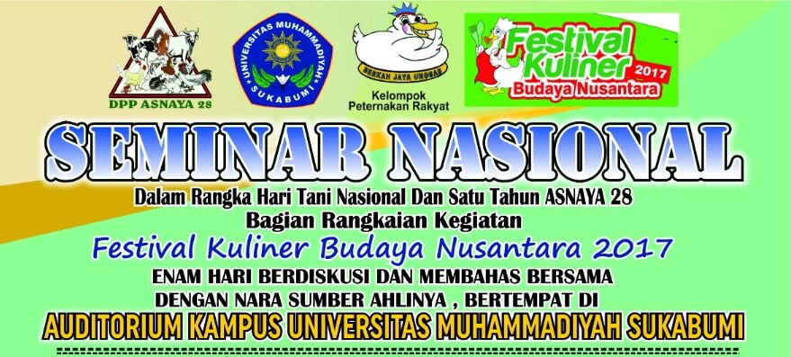 6 Hari Seminar Nasional Dalam Rangka Hari Tani  Dan Satu Tahun Asnaya