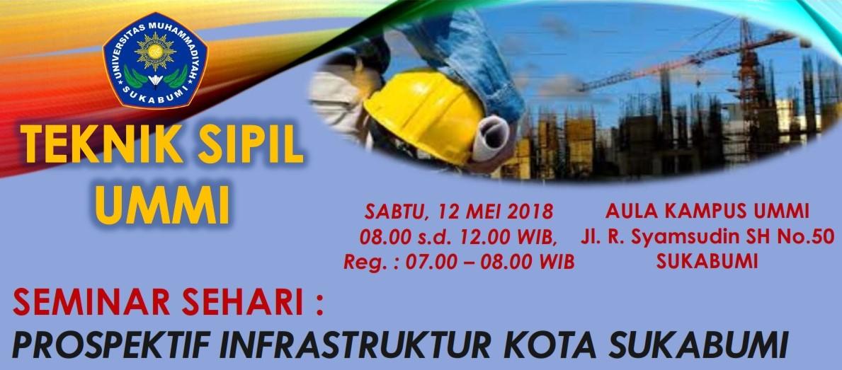 Ikuti Seminar Sehari : Prospek Infrastruktur Kota Sukabumi