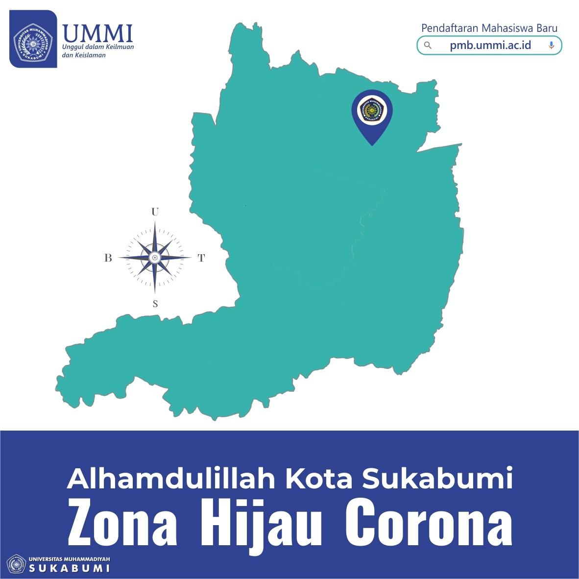 Alhamdulillah Kota Sukabumi   Zona Hijau Corona
