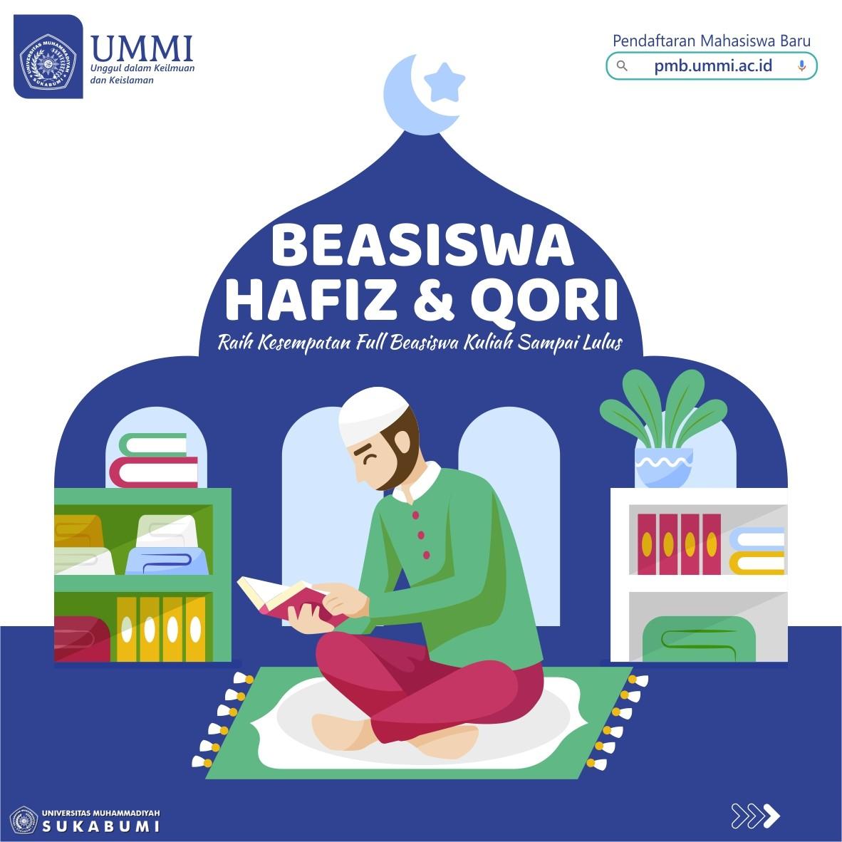 Beasiswa Hafiz Al-Qur'an dan Qori