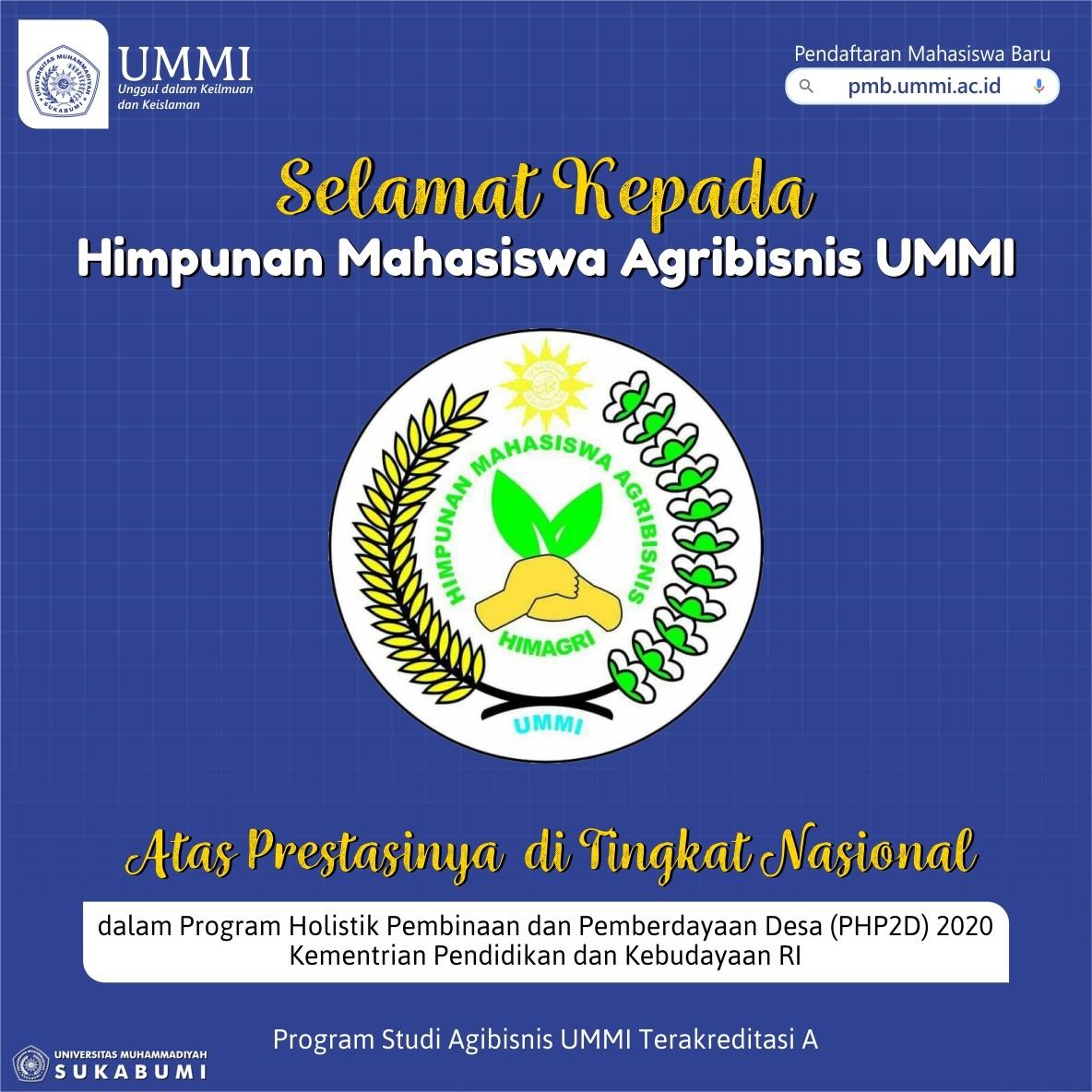 HIMAGRI UMMI Lolos Program PHP2D dari Kemendikbud