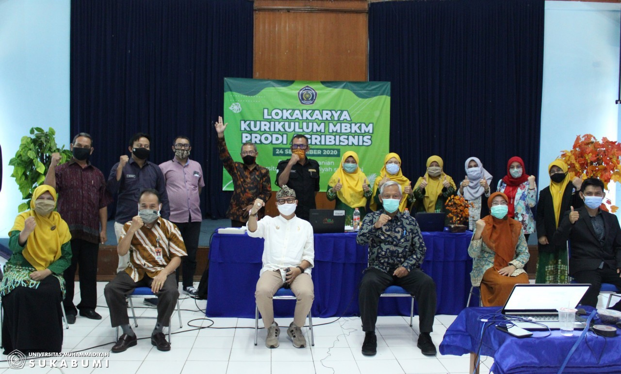 Prodi Agribisnis UMMI Lokakarya Kurikulum Merdeka Belajar – Kampus Merdeka