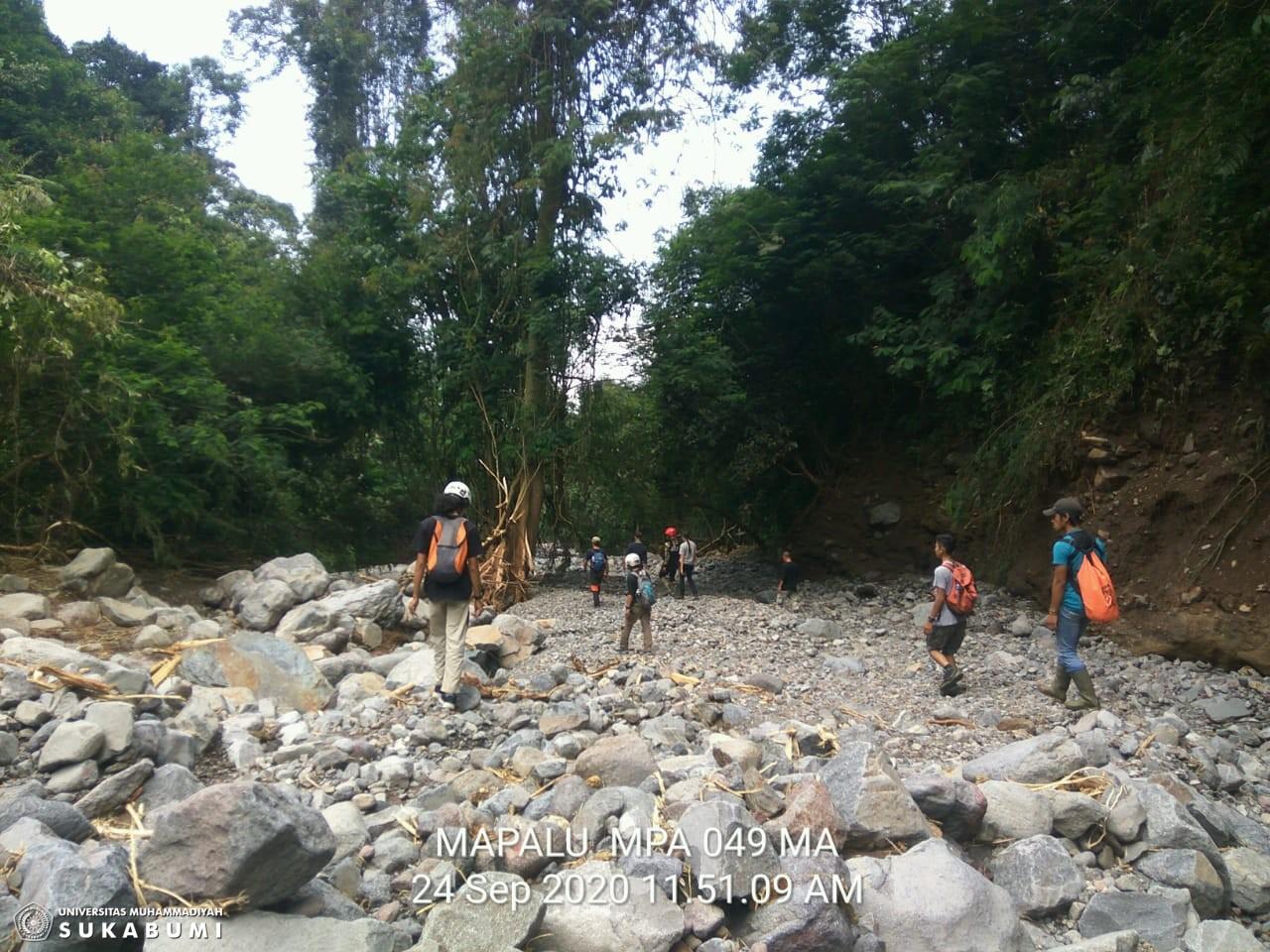Hasil Assement MAPALU UMMI  Penyebab Terjadinya Banjir  Bandang Cicurug