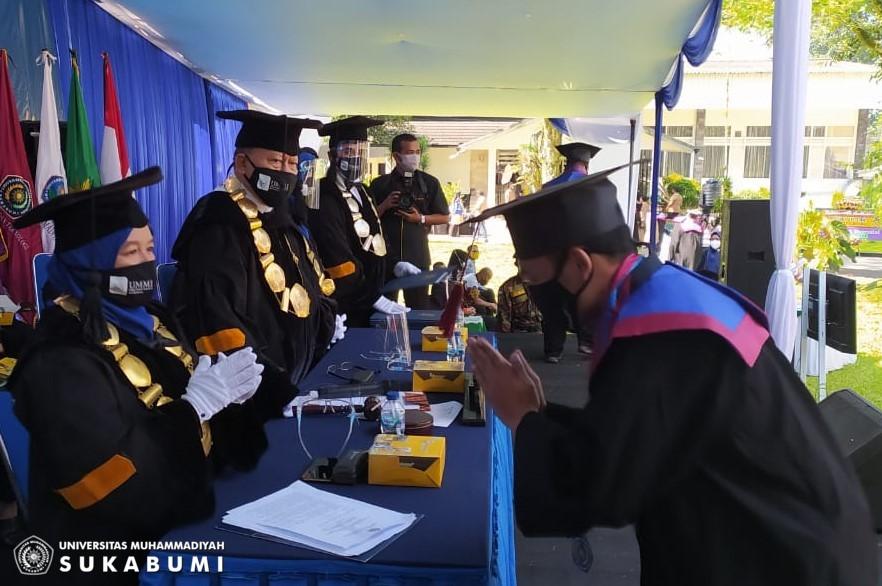 UMMI Sukses Wisuda 668 Lulusan Magister, Sarjana dan Ahli Madya