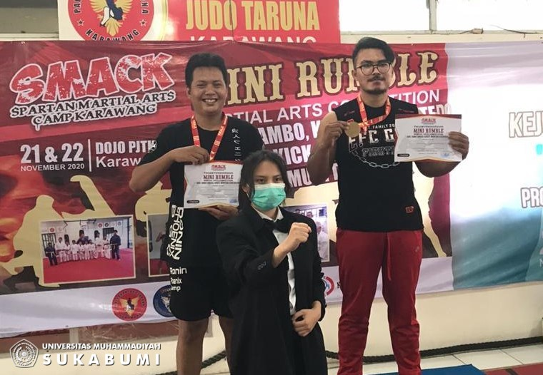 Mahasiswa PJKR UMMI Juara 1 Mix Martial Arts Competitions