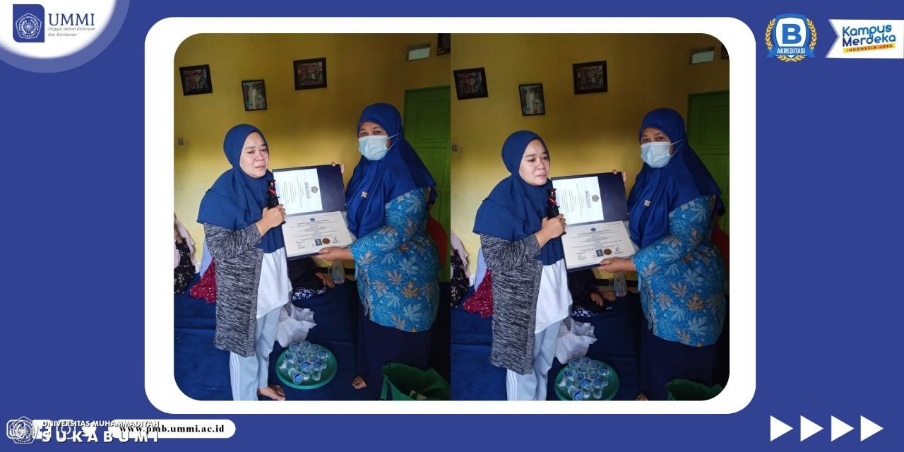 Duka Mendalam Di Wisuda Universitas Muhammadiyah Sukabumi