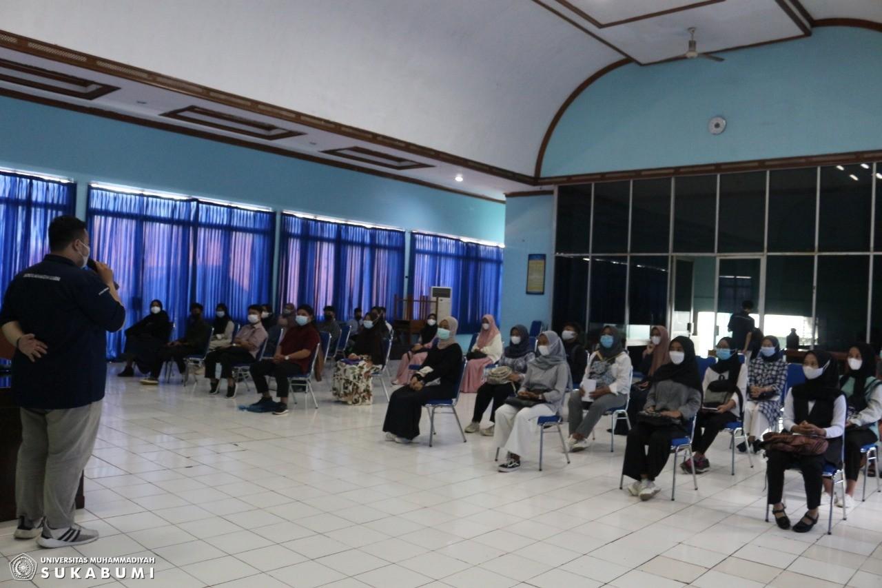 40 Calon Mahasiswa Keperawatan UMMI Ikuti Seleksi Gelombang Satu.