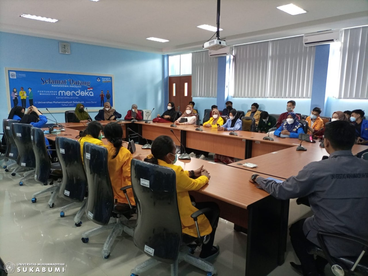 UMMI Sambut 41 Mahasiswa Inbound  dan Lepas 41 Mahasiswa UMMI  Program Pertukaran Mahasiswa  Kemendikbud Ristek