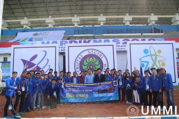 PJKR Students Conducted Study Visit to Universitas Negeri Malang to Improve Their Knowledge