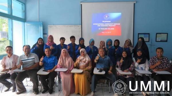 Lagi, 11 Mahasiswa UMMI Ikuti Teaching Practice and Community Service di Thailand