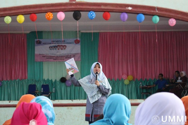 The UMMI PG PAUD Seminar was attended by 246 participants